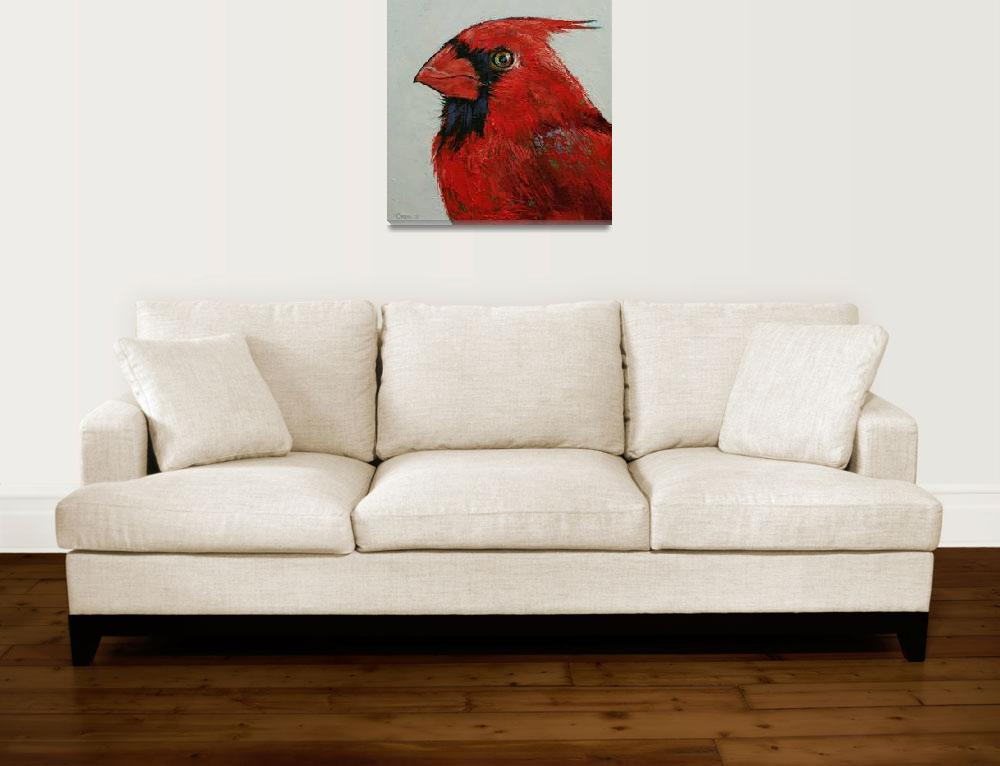 """""""Cardinal&quot  by creese"""