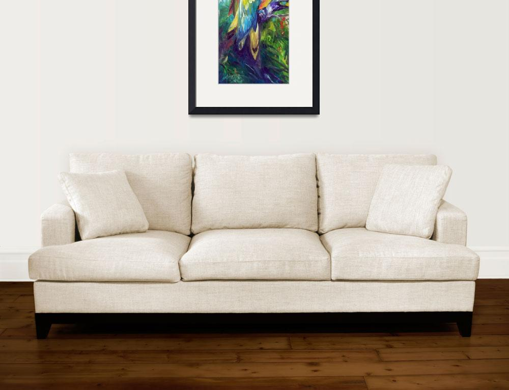 """""""MACAW PAIR 2412&quot  (2016) by MBaldwinFineArt2006"""