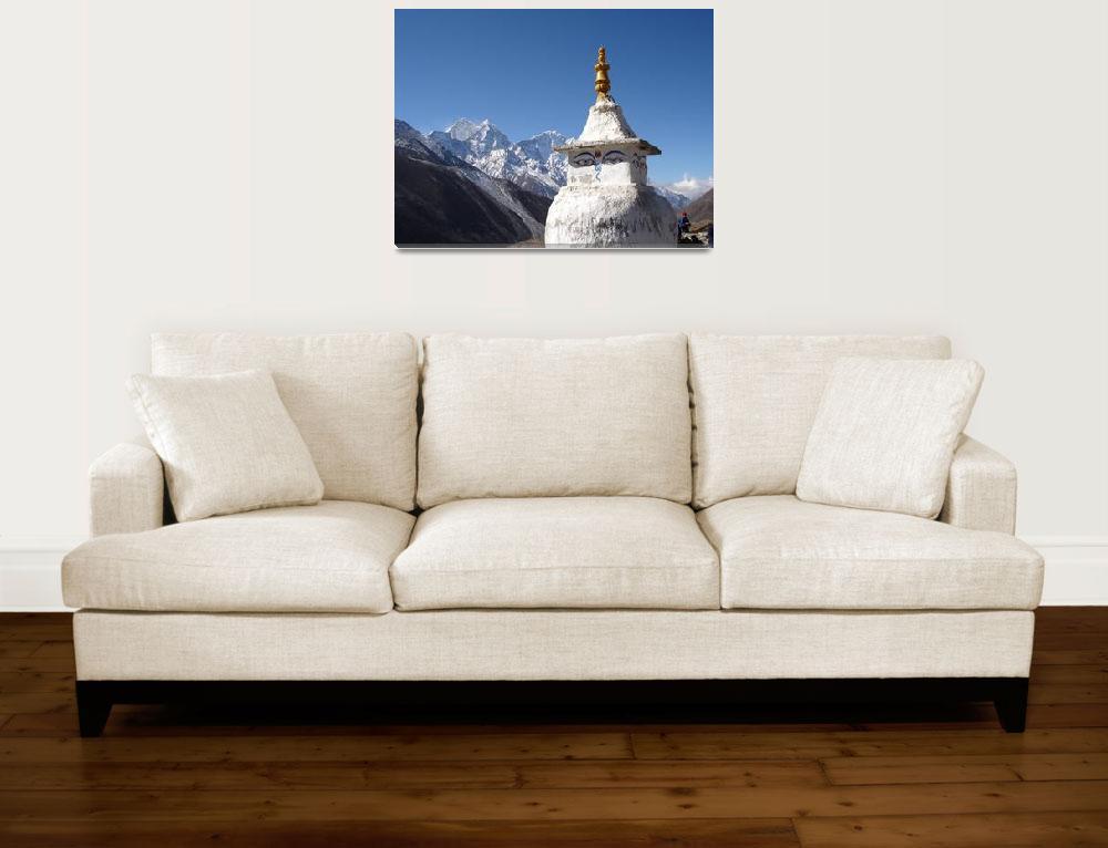 """""""Stupa - Nepal&quot  by Peppercorn"""