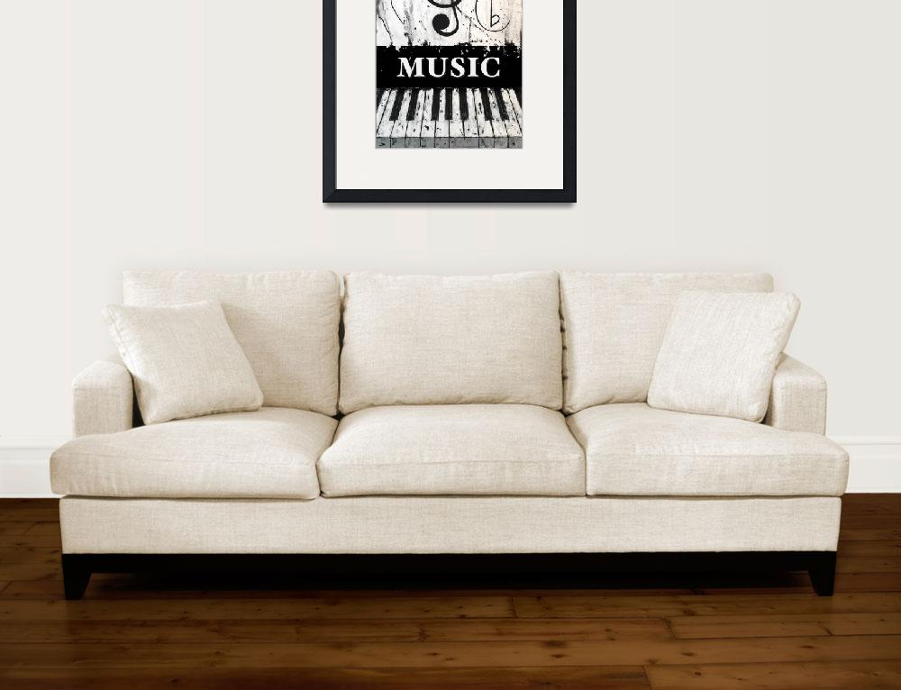 """""""Music 12 - Music In Motion&quot  by waynecantrell"""