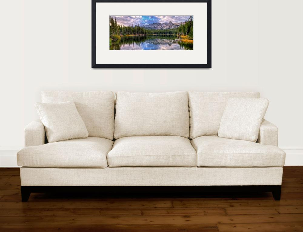 """""""Lake Mamie Panorama&quot  (2015) by LynnBauer"""