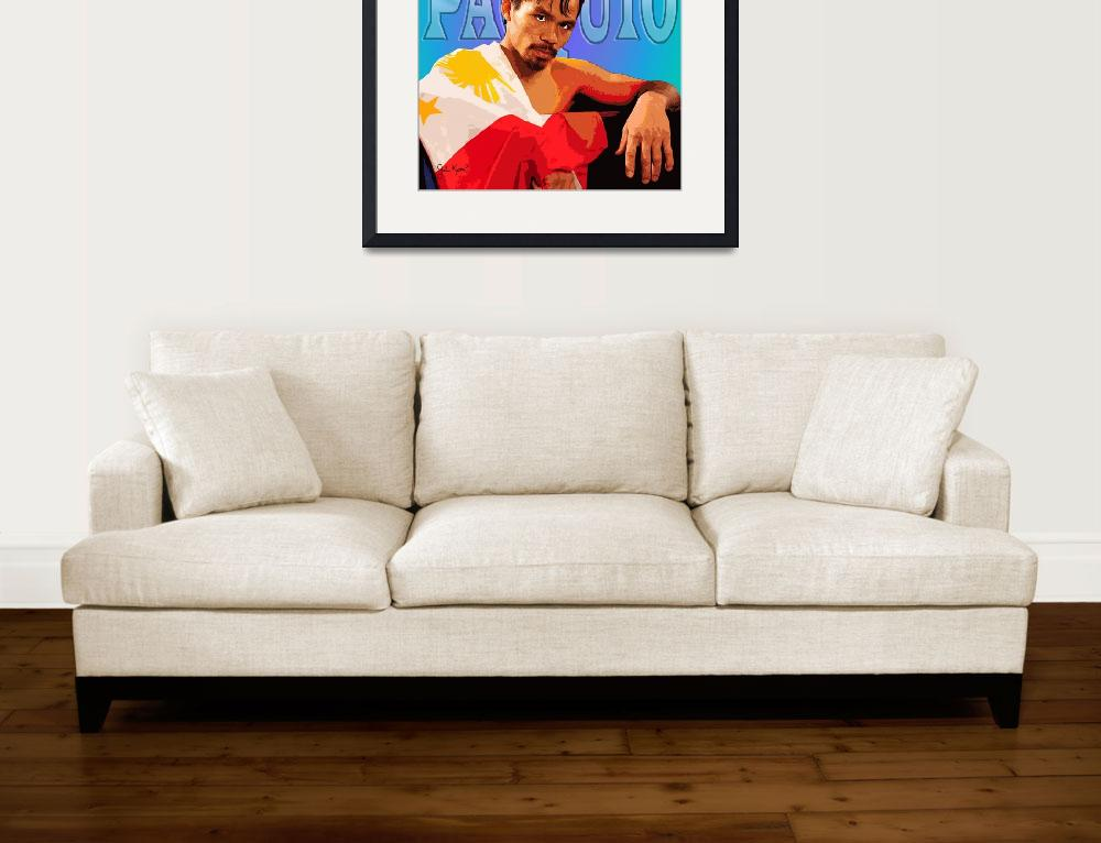 """""""Manny Pacquiao&quot  by johnKeaton"""