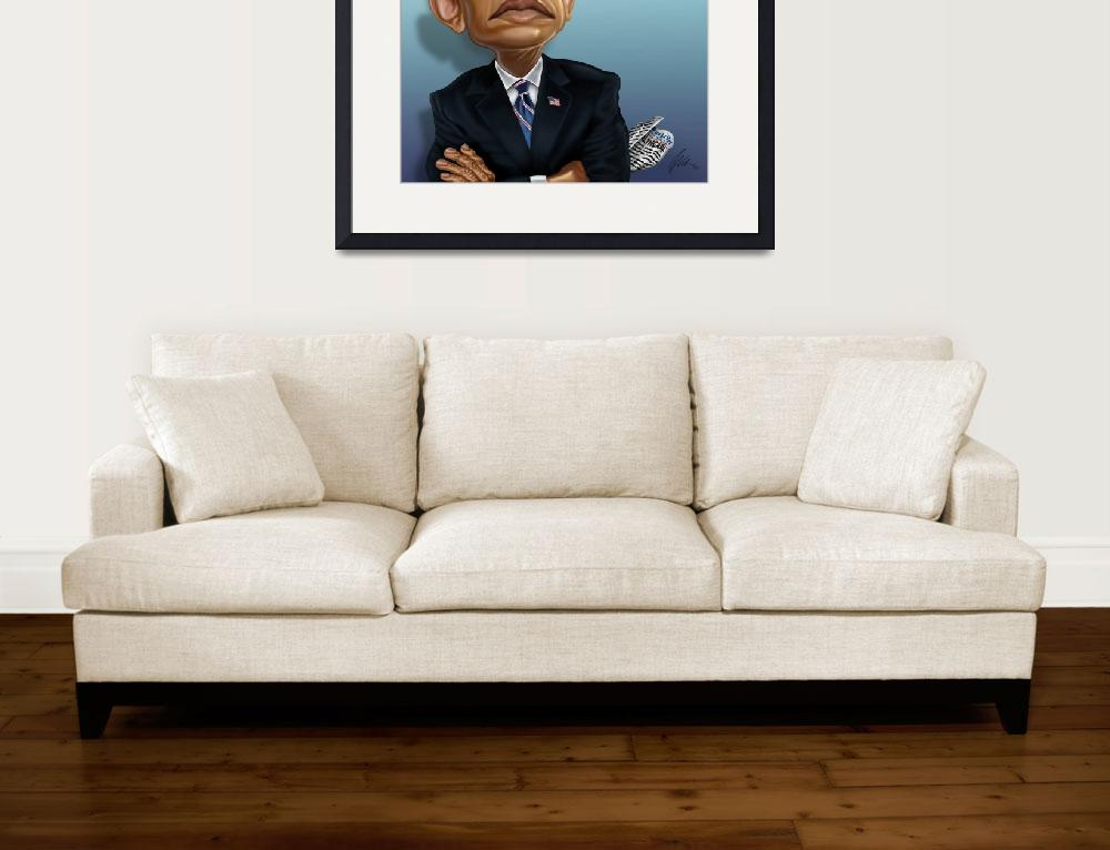 """OBAMA 2012&quot  (2011) by wilsart"