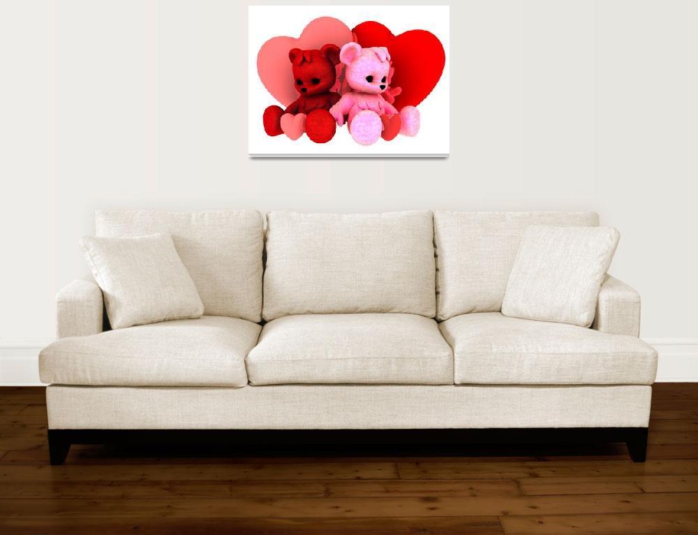 """Teddy Bearz Valentine""  (2009) by AlexButler"