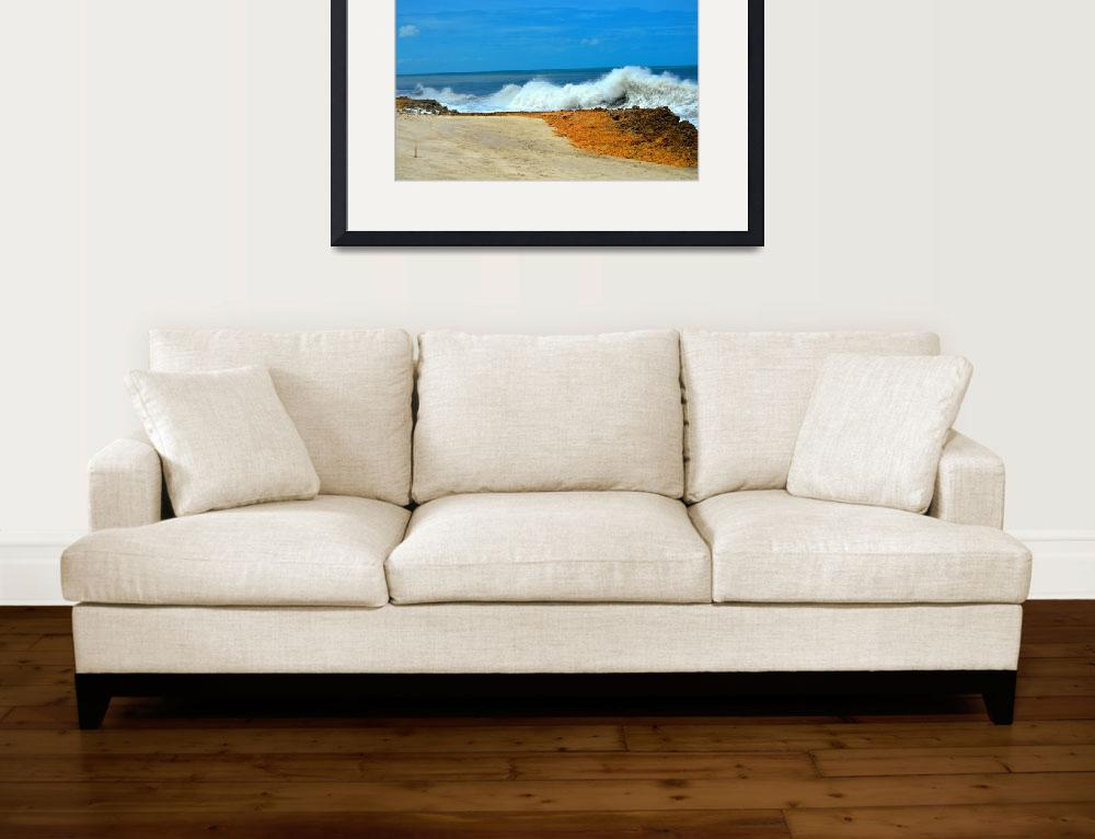 """""""Hurricane Irma Beach&quot  (2017) by DistinctImages"""