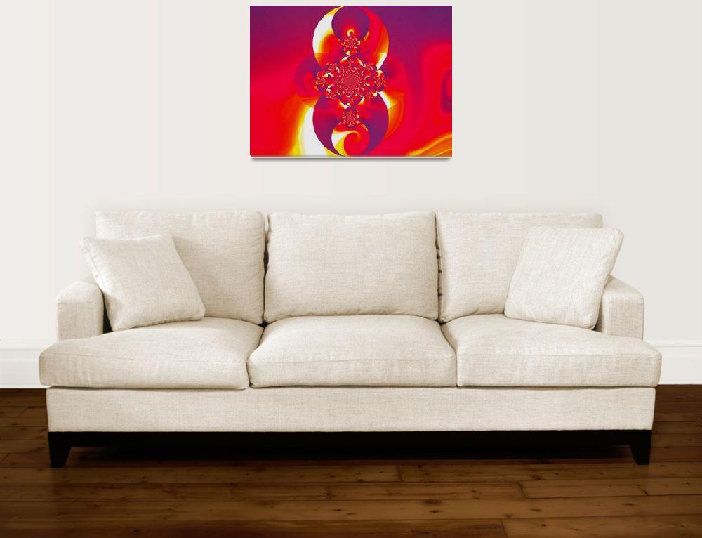 """""""Red Fire Scarab II&quot  by Atlantis-Seeker-Art"""