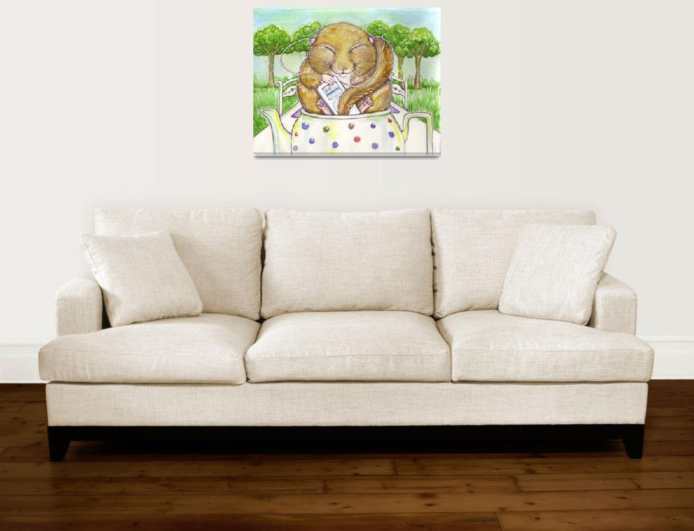 """""""Chilled out Dormouse&quot  (2009) by JoannaScott"""
