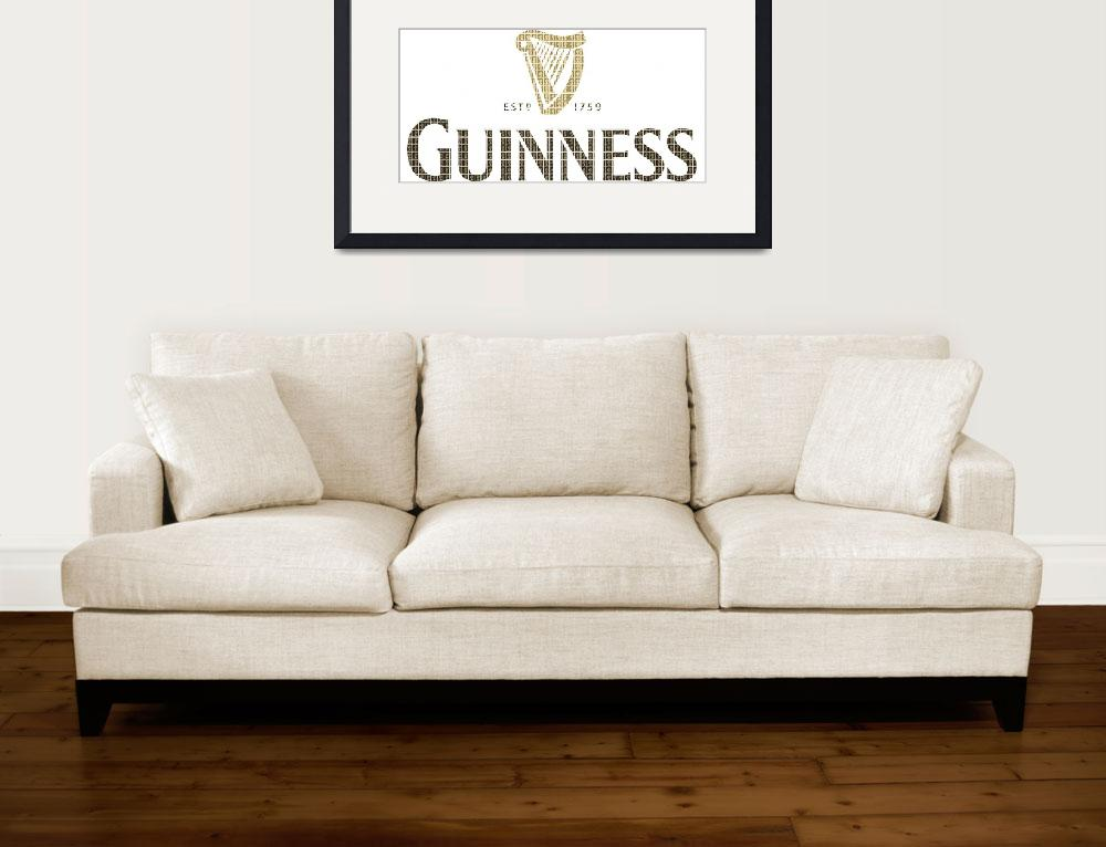 """""""guiness&quot  (2015) by garyhogben"""
