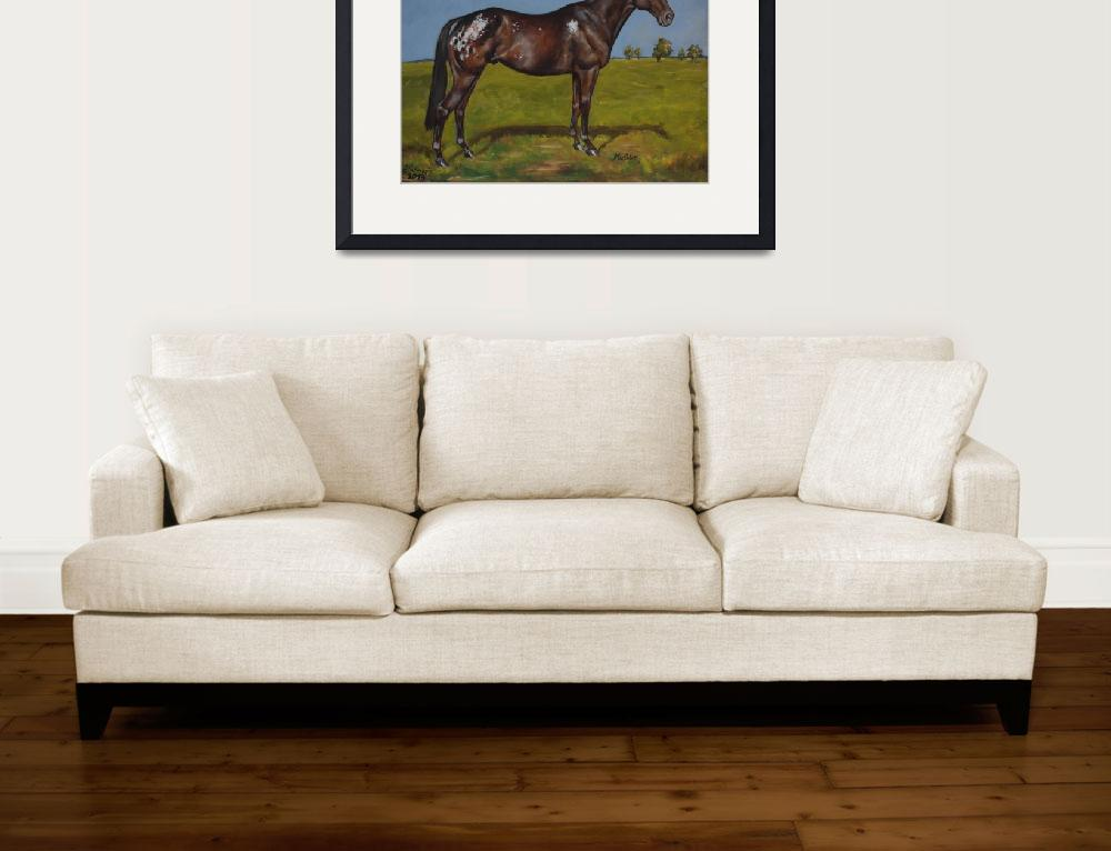 """The Appaloosa&quot  (2013) by IndiVirtuArt"