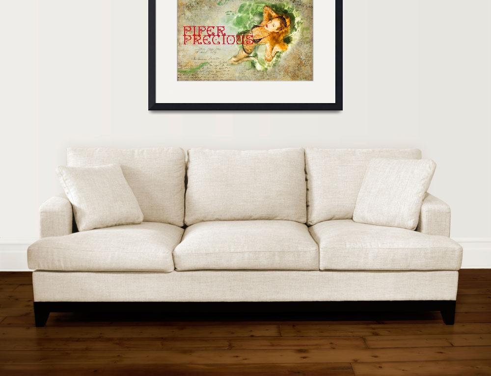 """Piper Precious Wet Poster No73-5824&quot  by amynnasser"