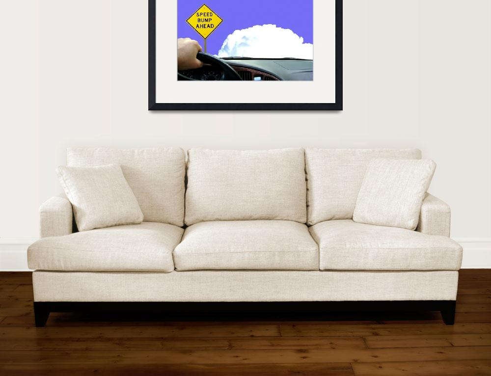 """Driving among the clouds""  (2010) by Bayardo"