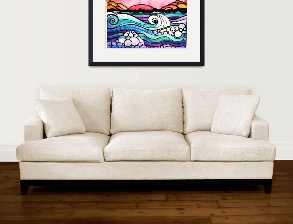 """""""Off Shore&quot  (2008) by ArtisticAbstraction"""
