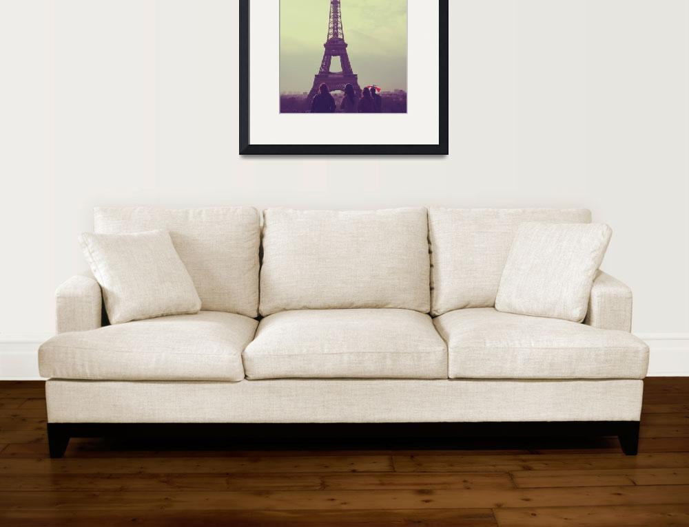 """""""View of the Eiffel Tower&quot  (2010) by Jdillon"""