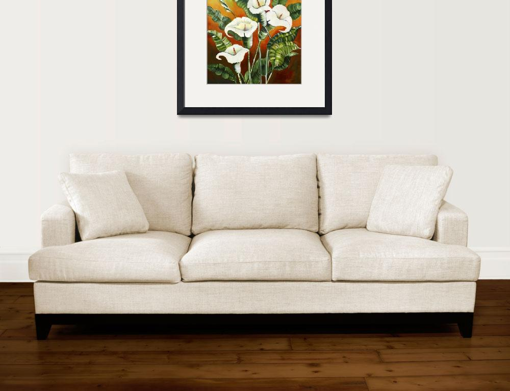 """""""""""Lillies""""""""  (2012) by susandrobinson"""