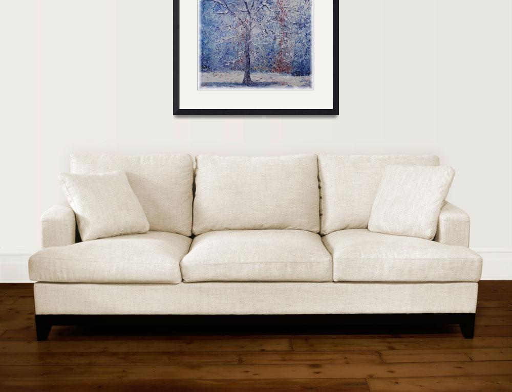 """""""Winter Trees&quot  (2007) by nadinerippelmeyer"""
