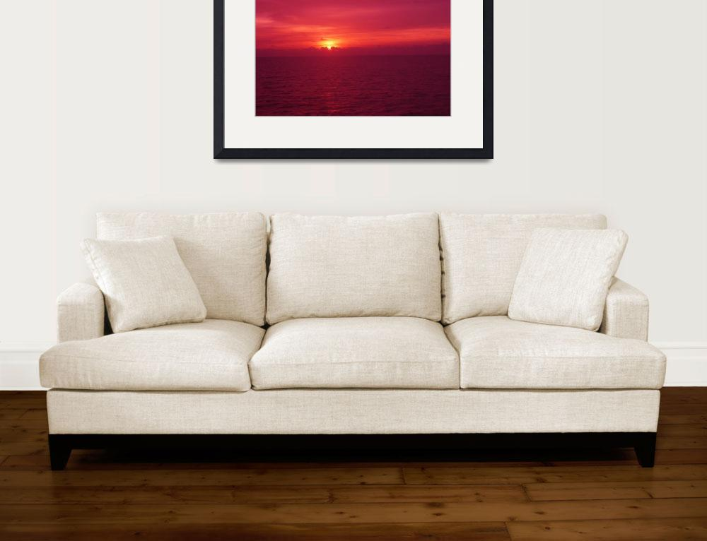 """""""Color my Sunset&quot  (2009) by Debrene"""