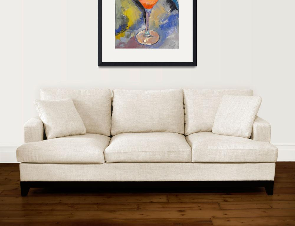 """""""Mango Martini Painting&quot  by creese"""