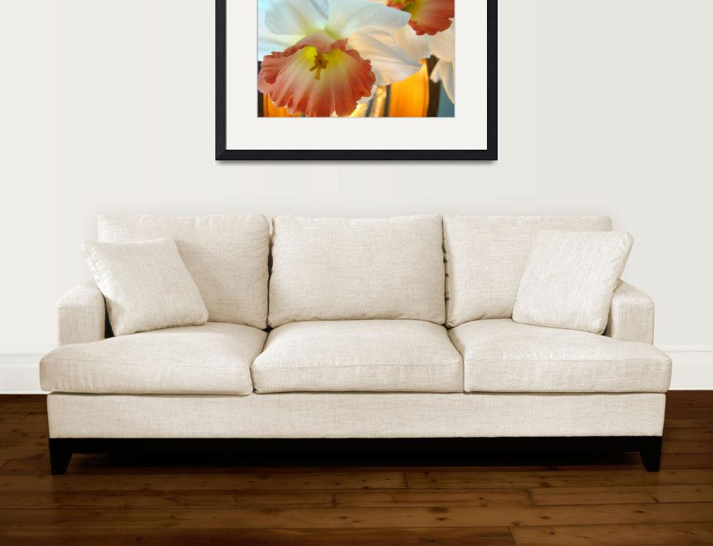 """""""Narcissus Flowers Spring 5 Art Prints Decorative&quot  (2009) by BasleeTroutman"""