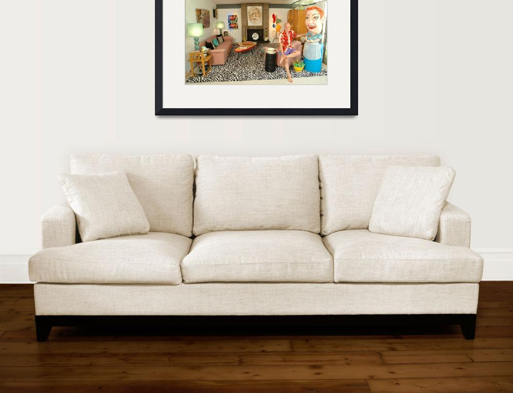 """""""The Artist in his Living Room.""""  by dipnat"""