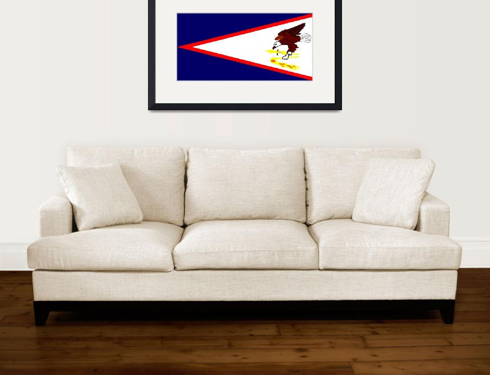 """American Samoa""  by tony4urban"