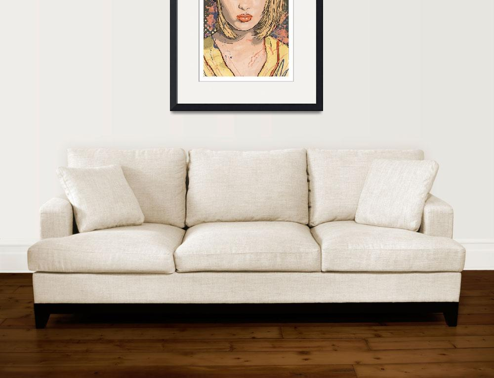 """""""The Crimes of Faye Dunaway&quot  (2015) by tBaneArt"""