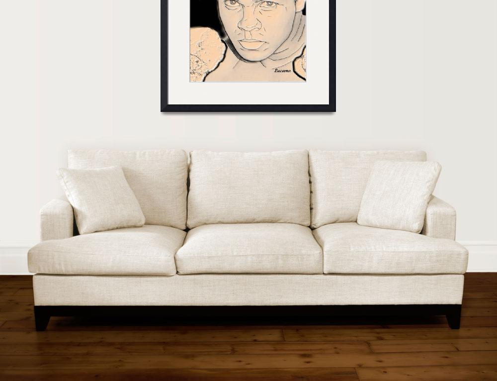 """""""Muhammad Ali&quot  (2016) by Lucamo"""