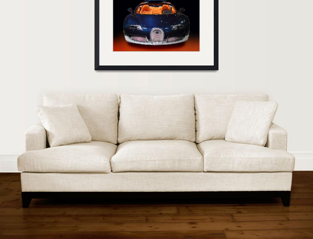 """Bugatti luxury sport car&quot  (2011) by Radodn"