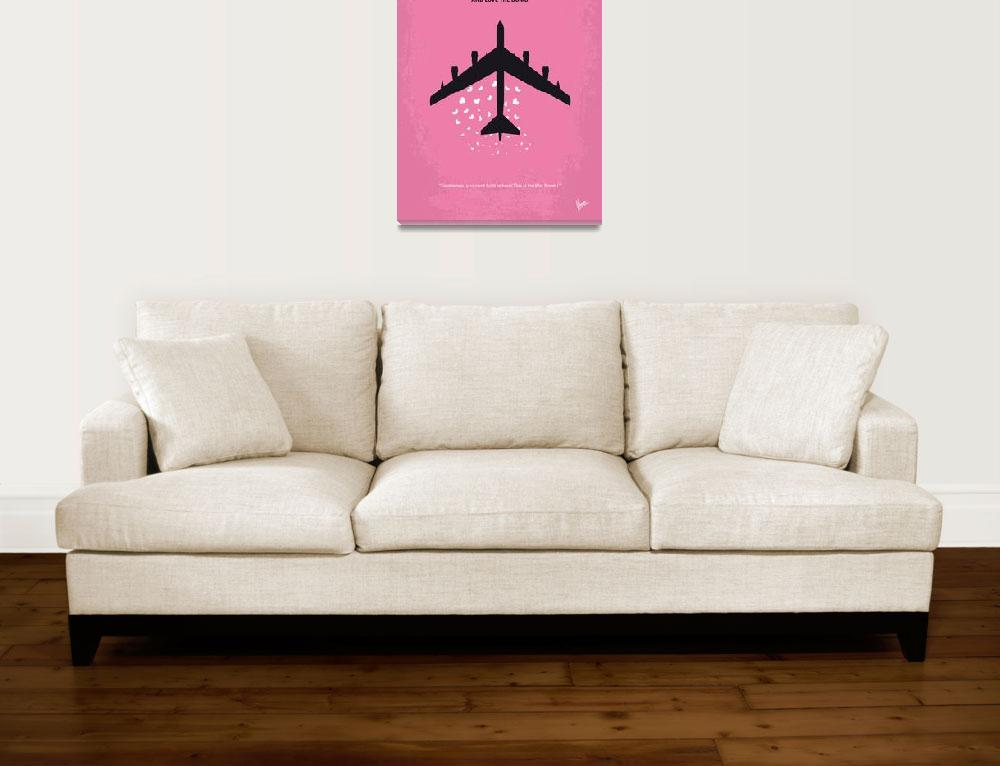 """""""No025 My Dr Strangelove minimal movie poster&quot  by Chungkong"""