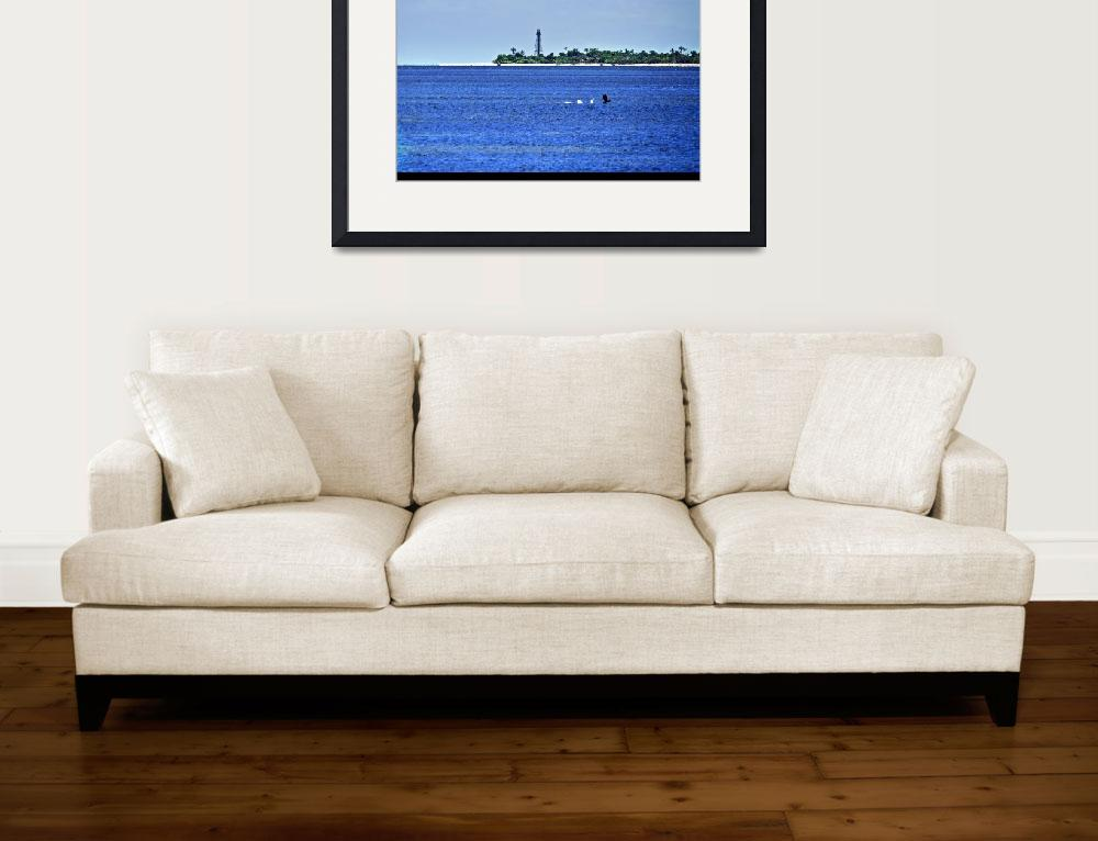 """""""sanibel lighthouse""""  (2009) by MichaelLilley"""