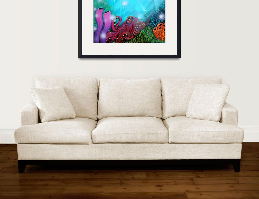 """Sea of Dreams&quot  (2015) by ArtPrints"