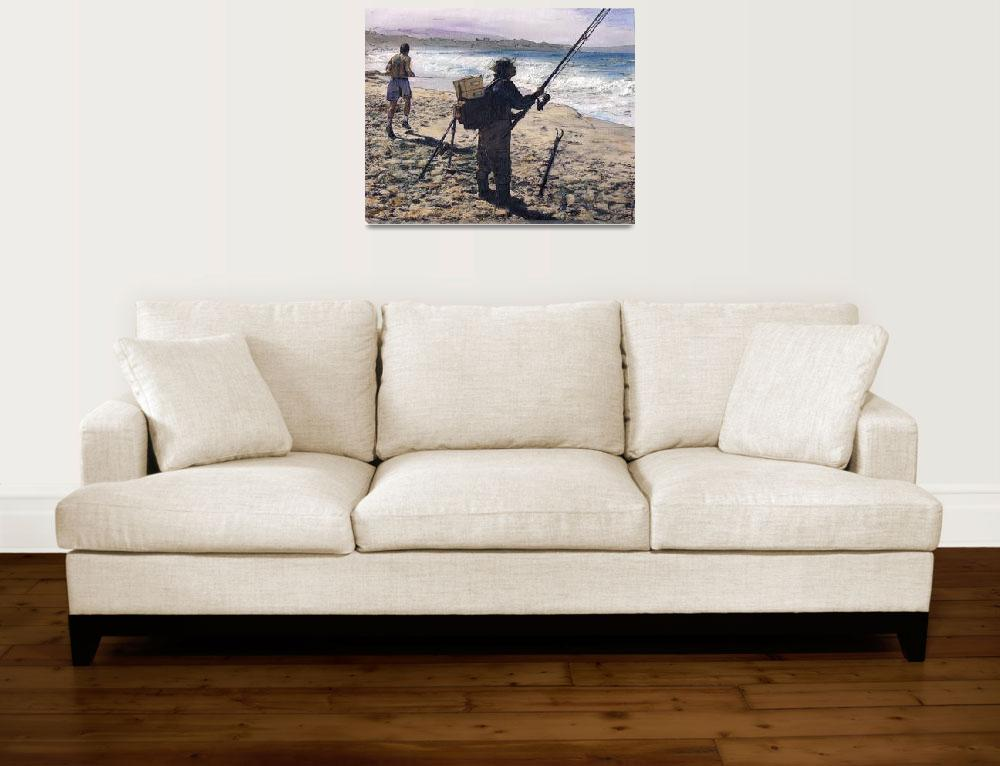 """Carmel Beach Winter""  (2010) by randysprout2004"