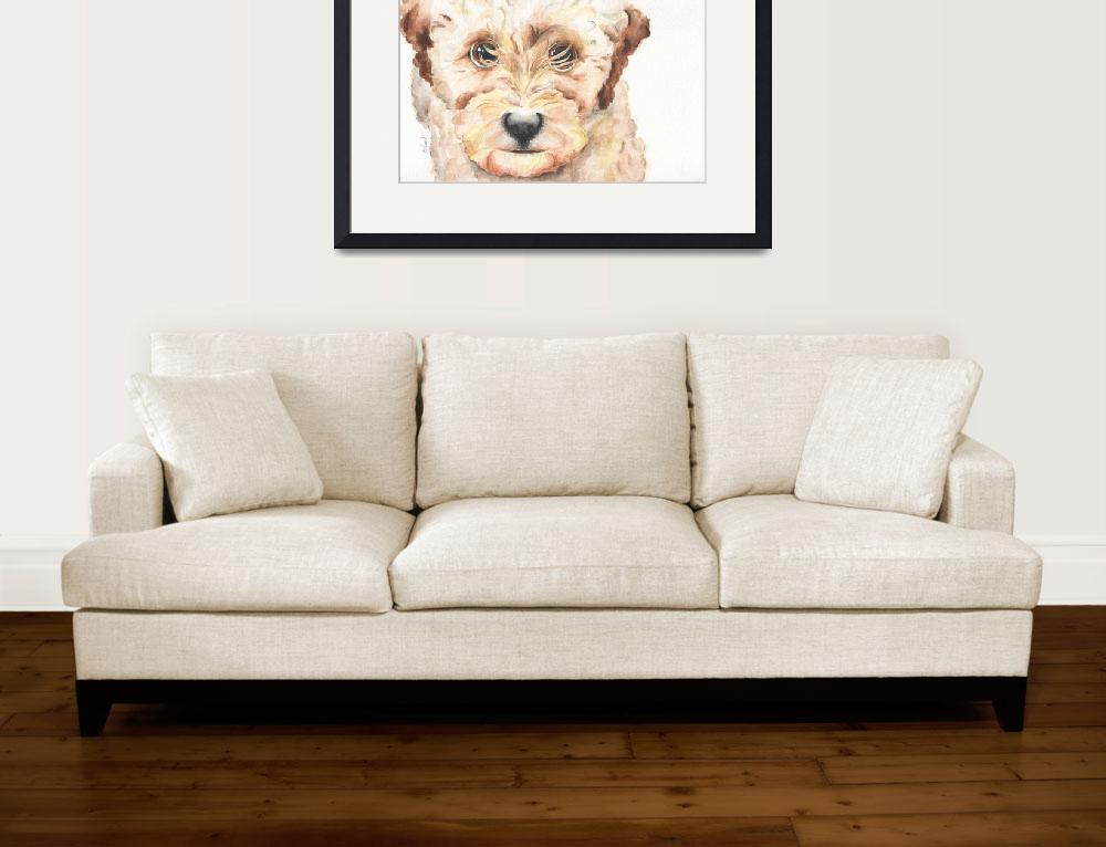 """""""TP Trailing Toddler Labradoodle Nala&quot  (2014) by Designomel"""