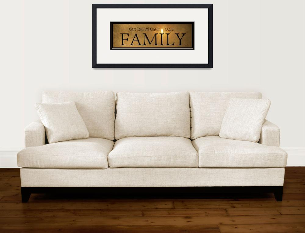 """""""Family&quot  (2016) by Robin-Lee"""