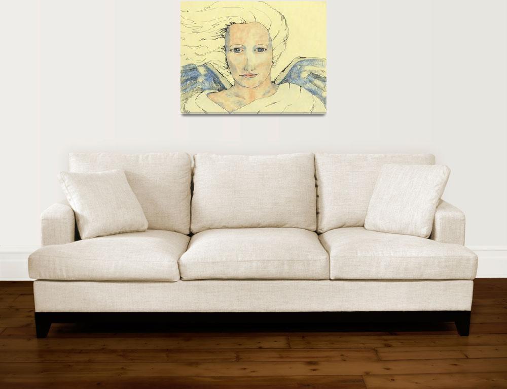 """Angel Messenger""  (2006) by CherylsArt"