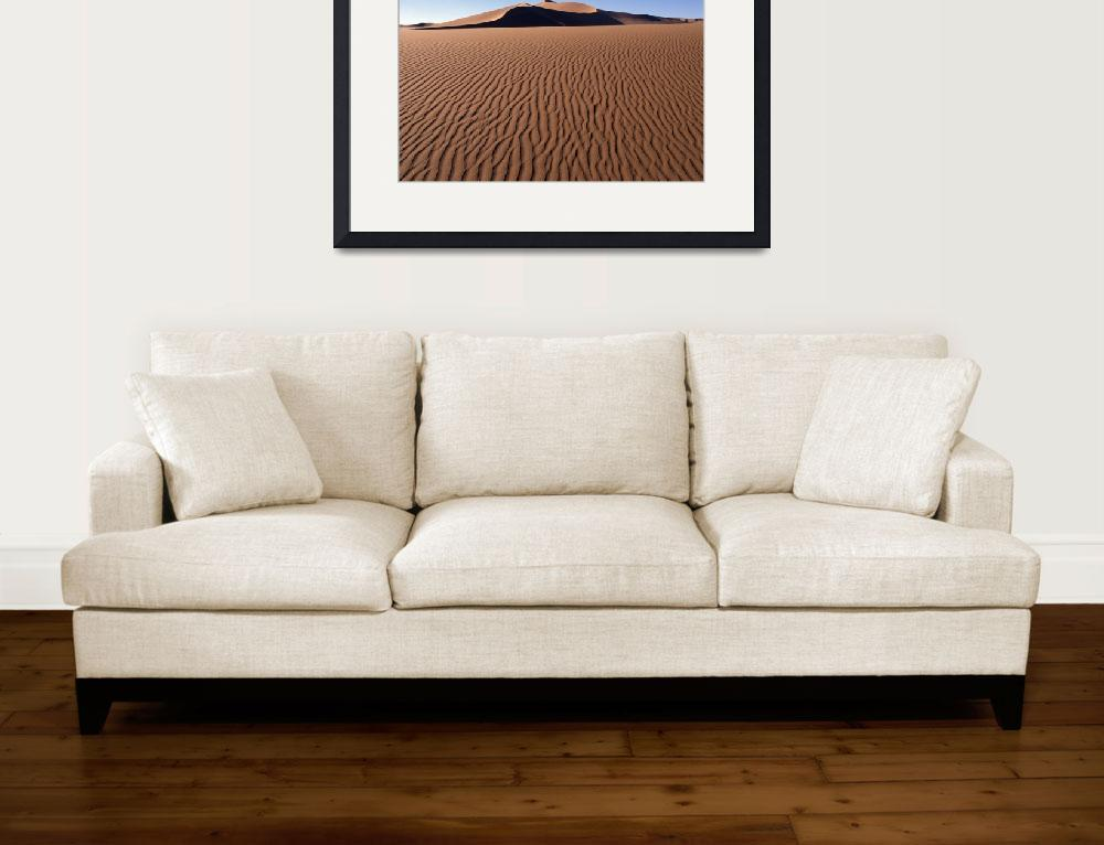 """""""Sand Dunes Against Clear Sky In Namib-Naukluft Nat&quot  by DesignPics"""