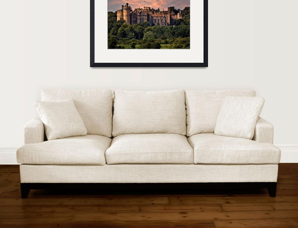 """Arundel Castle&quot  (2010) by ChrisLord"