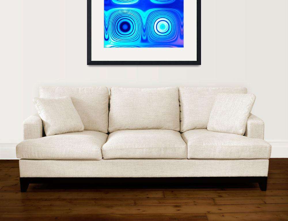 """""""Electric Blue A&quot  by psovart"""