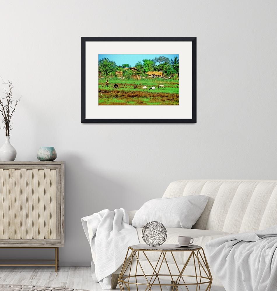 """""""Countryside Village""""  (1991) by JoaoPonces"""