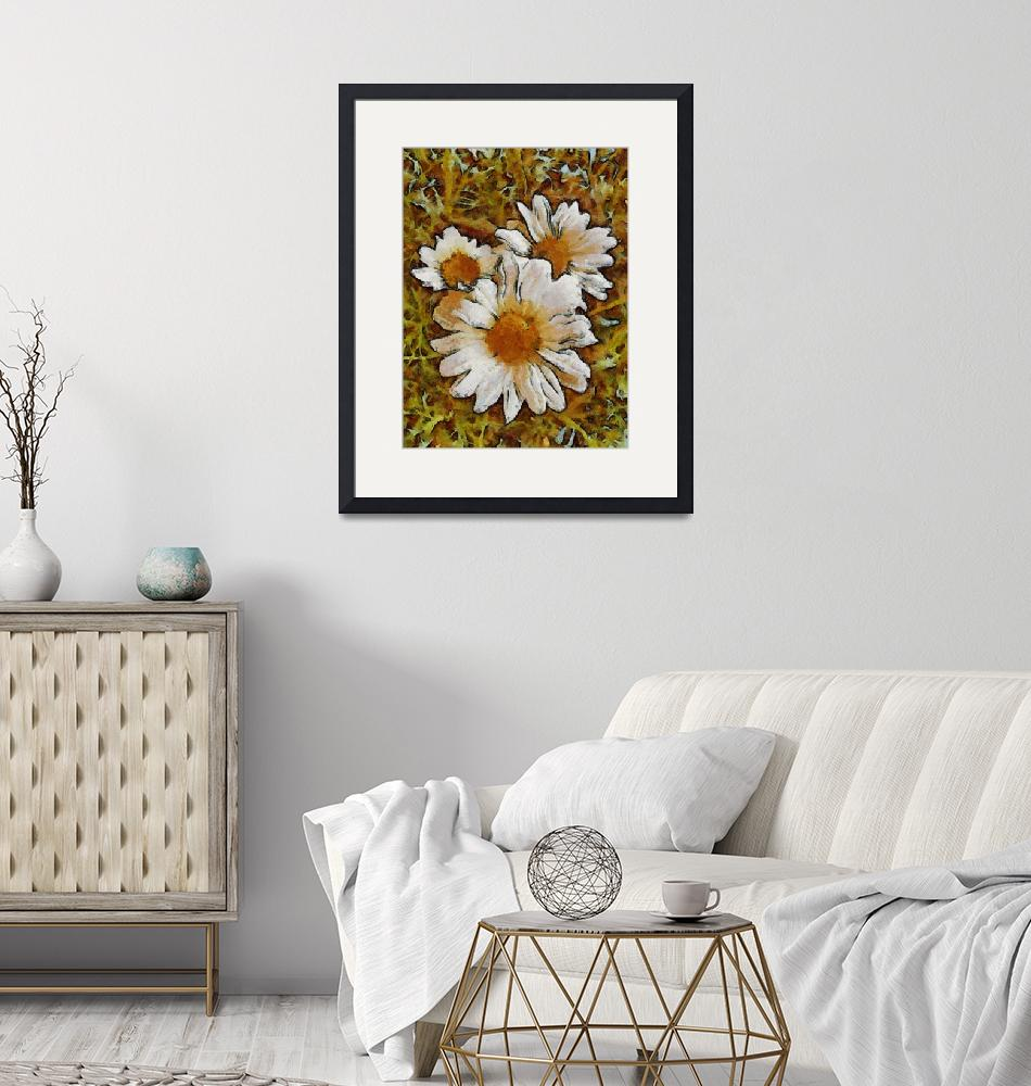 """""""Daisies Three""""  (2011) by leapdaybride"""