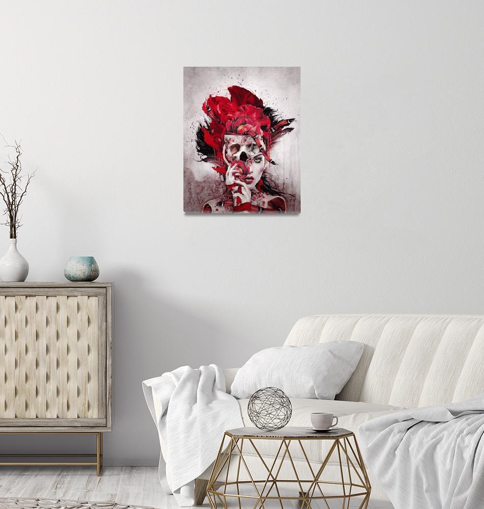 """Poisonous Flowers""  (2019) by rizapeker"
