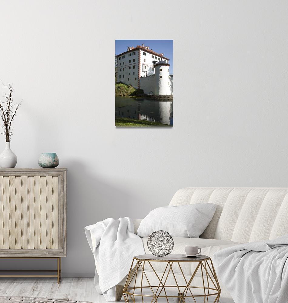 """Sneznik Castle, Slovenia""  by IanMiddletonphotography"
