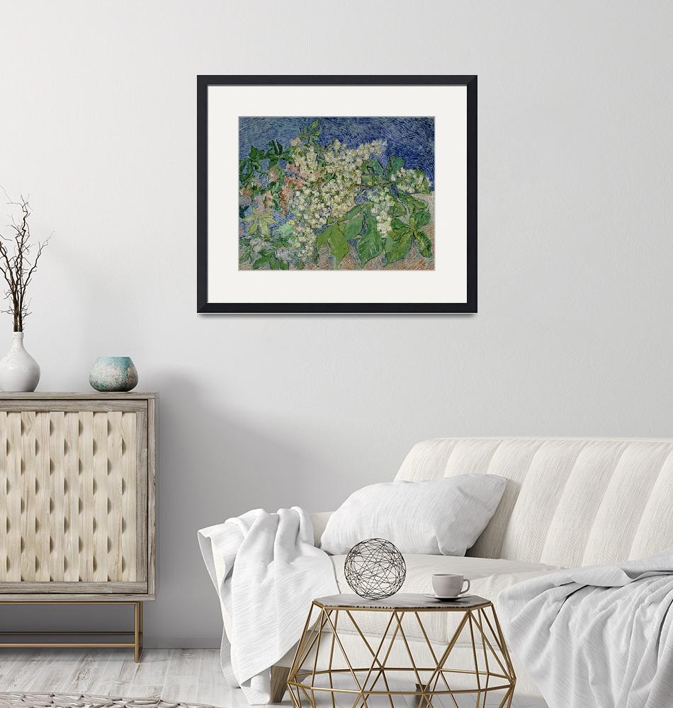 """""""Blossoming Chestnut Branches by Vincent van Gogh""""  by fineartmasters"""