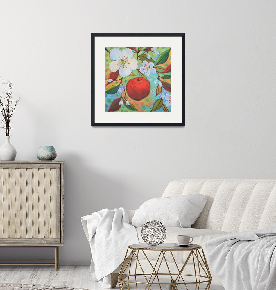 """""""Apple Among The Blossoms""""  (2017) by PeggySueDavis"""