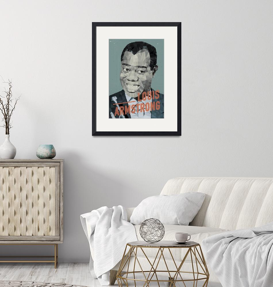 """""""Louis Armstrong""""  by artlicensing"""
