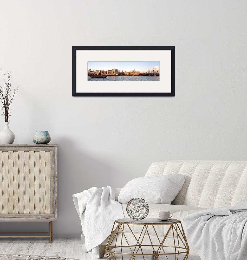"""""""Riverbank panorama""""  by smartjoint"""