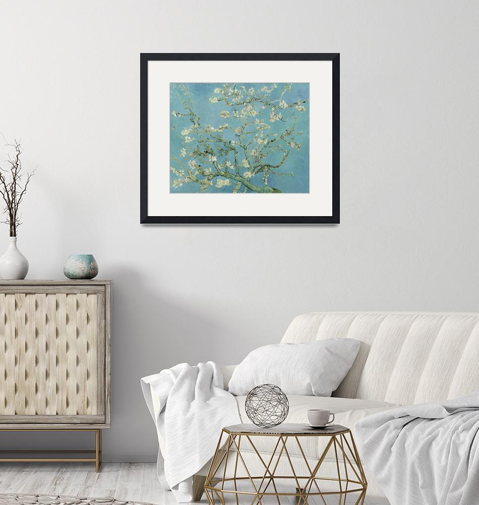 """""""Almond Blossom - Vincent Van Gogh""""  by VintageArtPosters"""