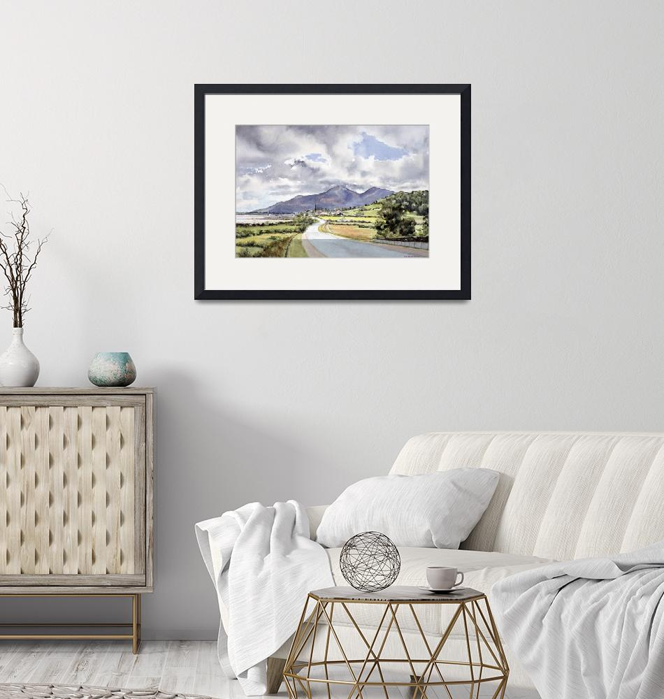 """""""The Mountains of Mourne by Lydia Burgh""""  by fineartmasters"""