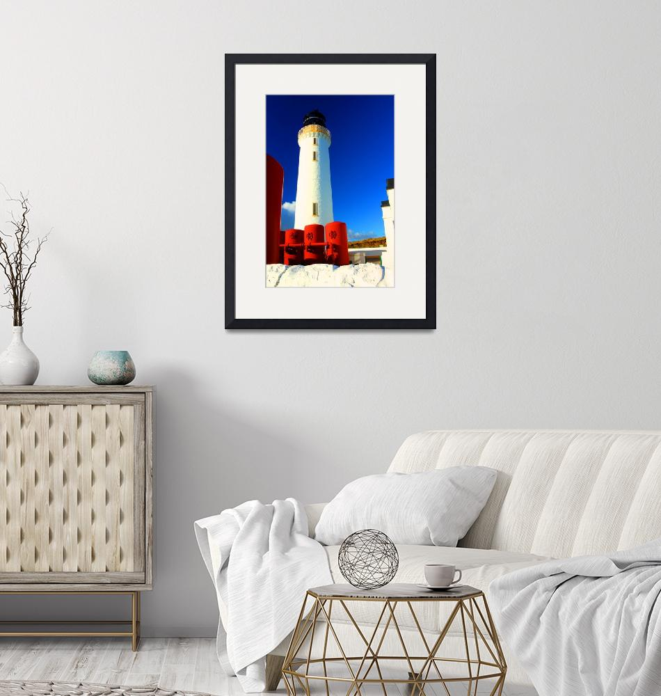 """""""Mull of Galloway Lighthouse""""  (2010) by andy-littlejohn"""
