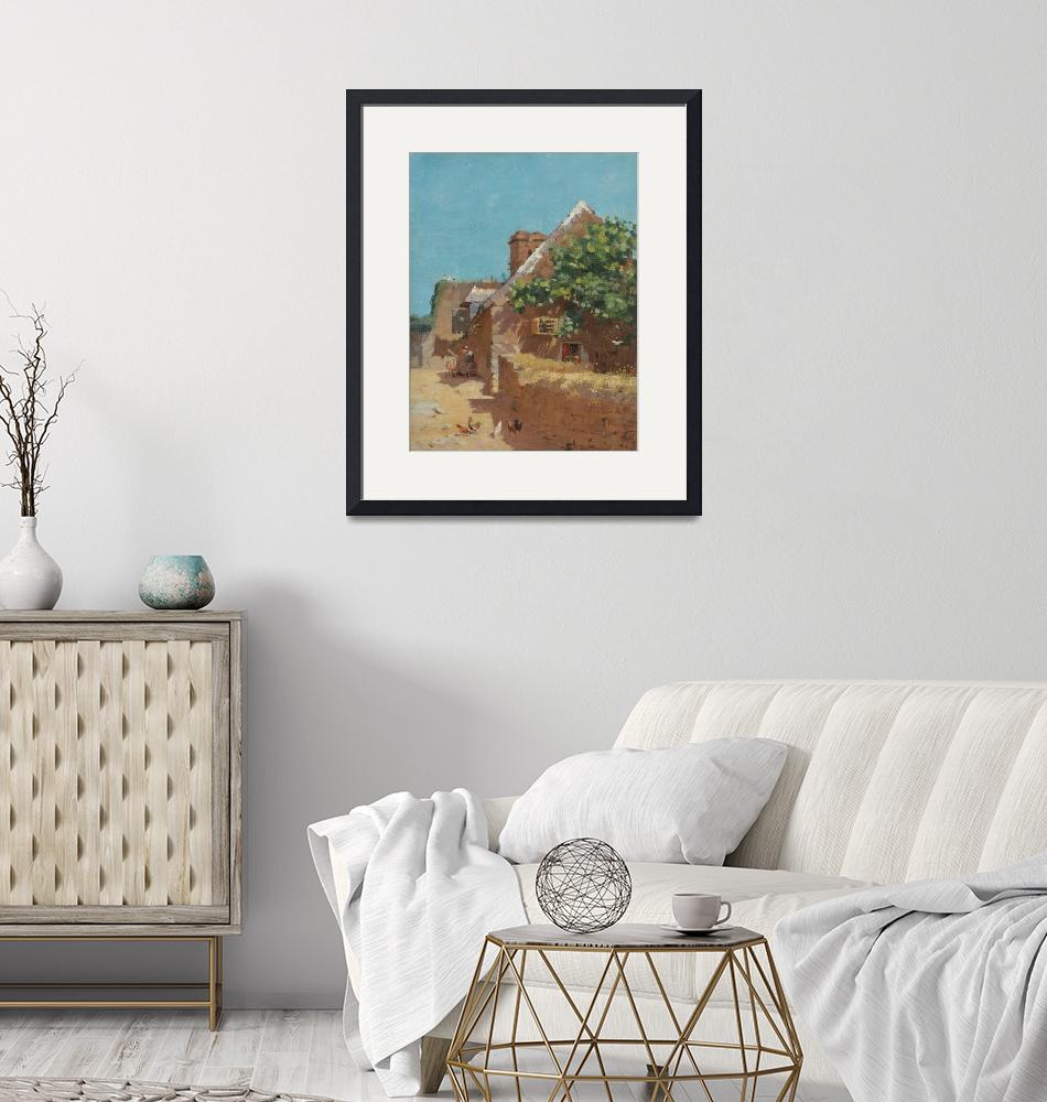"""Paul Peel Art Framed Print""  by buddakats1"