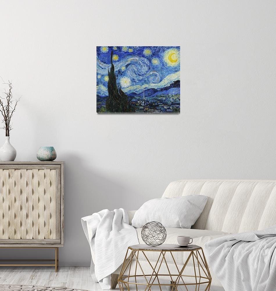 """""""The Starry Night by Van Gogh""""  by FineArtClassics"""